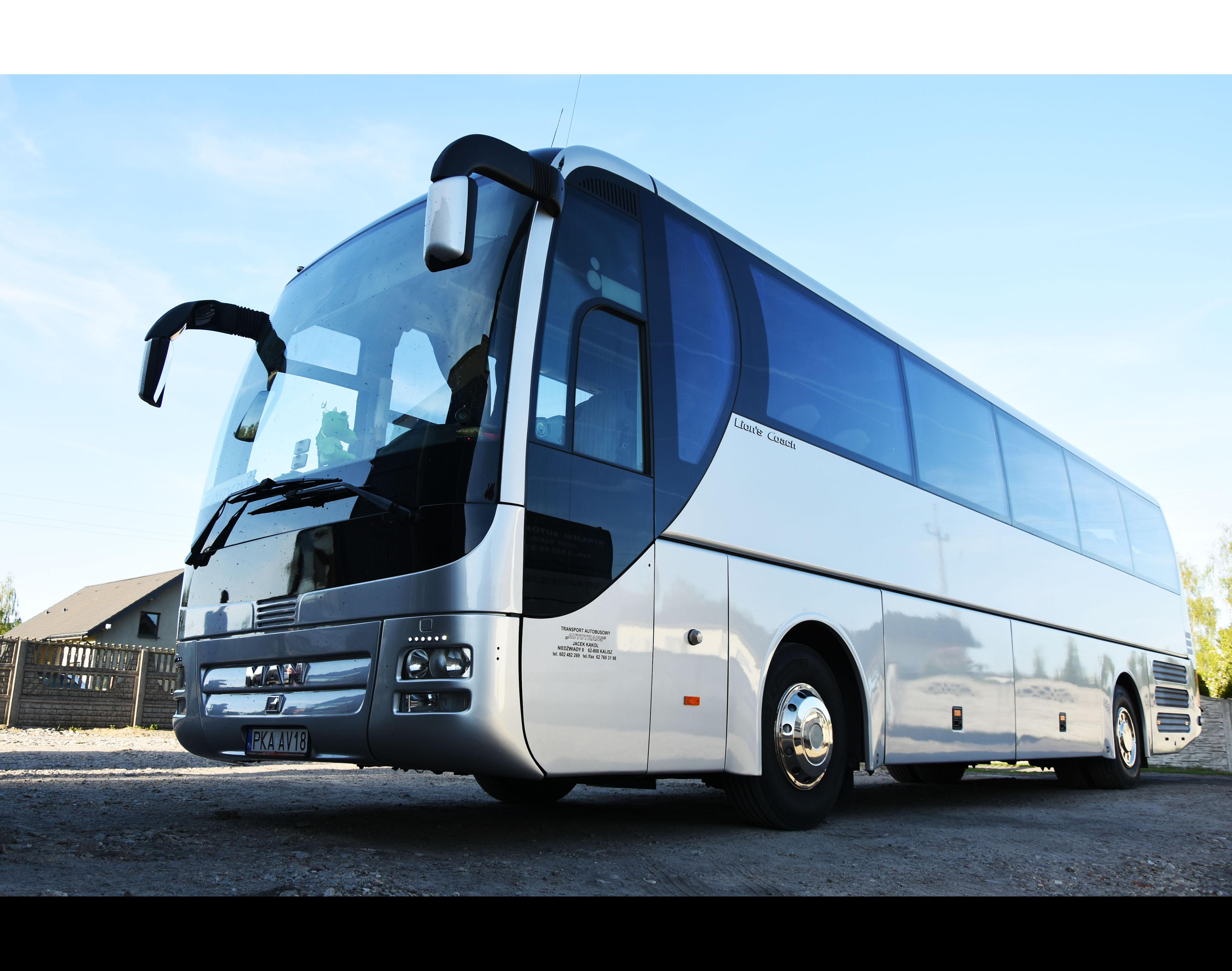 Kalisz Wynajem autokarów wynajem autobusów kalisz